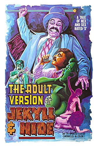 The Adult Version of Jekyll & Hide (1972) Movie Poster 24x36