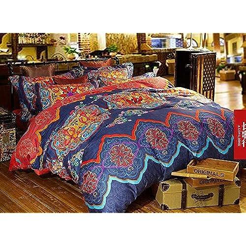 amazon pin egyptian kitchen com bohemian cotton comforter moroccan sets cover full home set duvet cliab queen bedding