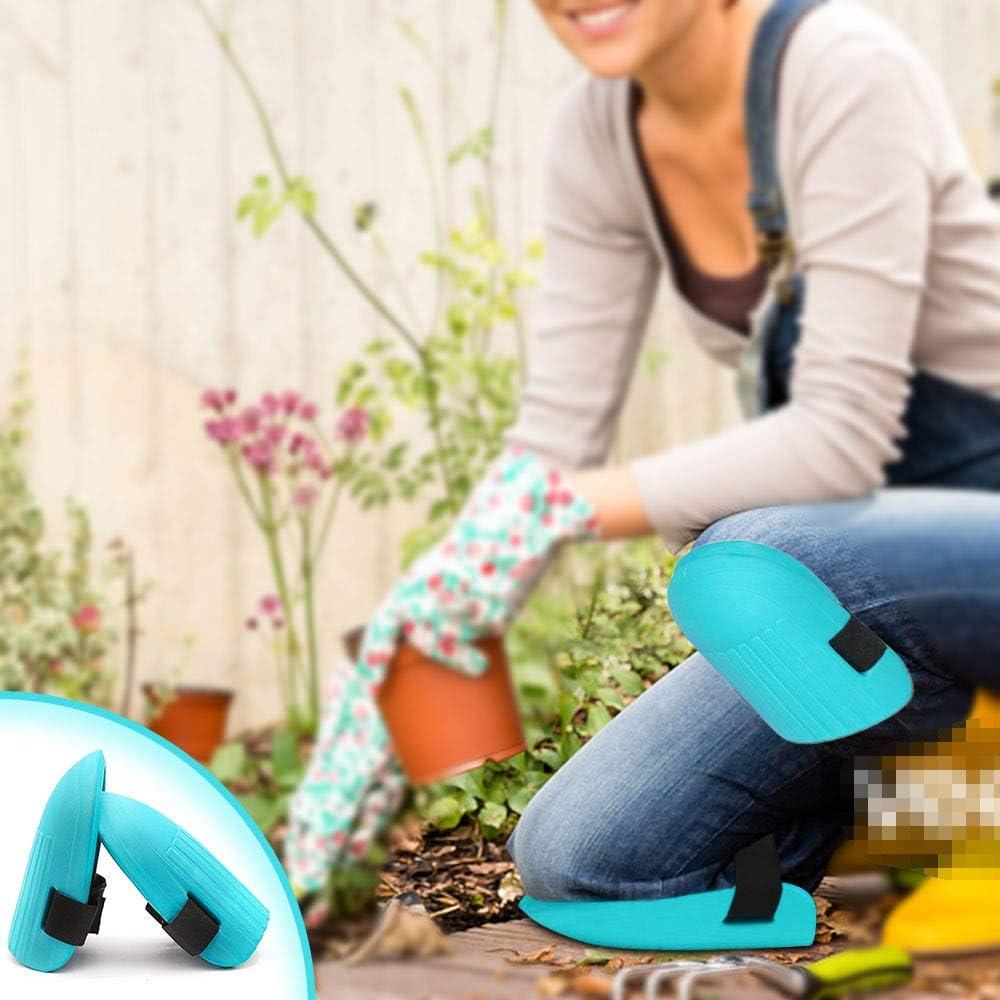 Pisos Limpieza 1 Par Rodilleras para Jardiner/ía Rodilleras Antideslizantes Correas Ajustables para Trabajo Kitchen-dream Rodilleras de Trabajo para Jardin Carpinter/ía Verde Oscuro Jardiner/ía