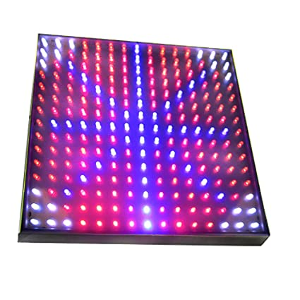 Hqrp Blue Red Orange White Led Grow Light Panel For Budding Flowering And Vegetative Glowth 14w 77 Red 47 Blue 77 Orange 24 White Led 12 Inch