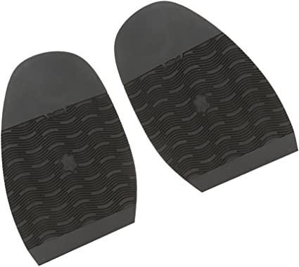 Pair Men/'s Rubber Glue on Half Soles Shoe Repair Supplies Anti-Slip Grip Pad
