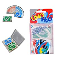 New UNO H2O Waterproof PVC Transparent Cystal Clear