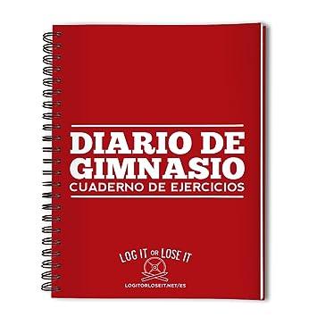 Log it or Lose it Diario de Gimnasio - Edición Bolsillo Tamaño A6: Amazon.es: Deportes y aire libre