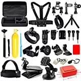 Soft Digits Accessories Kit for GoPro Hero 6 5 4 3+ Session Accessory...