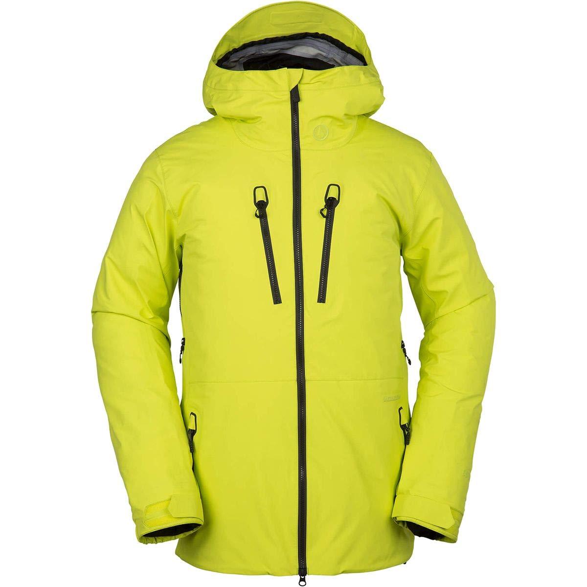 (ボルコム) Volcom TDS Infrared Gore-Tex Hooded Jacket メンズ ジャケットLime [並行輸入品] B07HR47K1H 日本サイズ LL (US L)|Lime Lime 日本サイズ LL (US L)