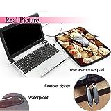 """iColor 15"""" Laptop Handle Sleeve Bag Neoprene"""