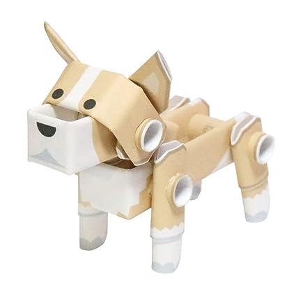 Amazon com: PIPEROID Animals Dog Corgi - Paper Craft kit from Japan