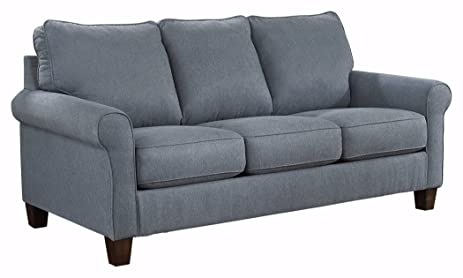 Beau Ashley Furniture Signature Design   Zeth Sleeper Sofa   Queen Size   Easy  Lift Mechanism