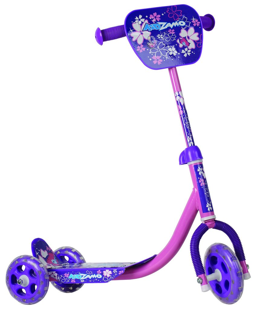 Kidzamo 3 Rad Scooter mit großen Fußplatten