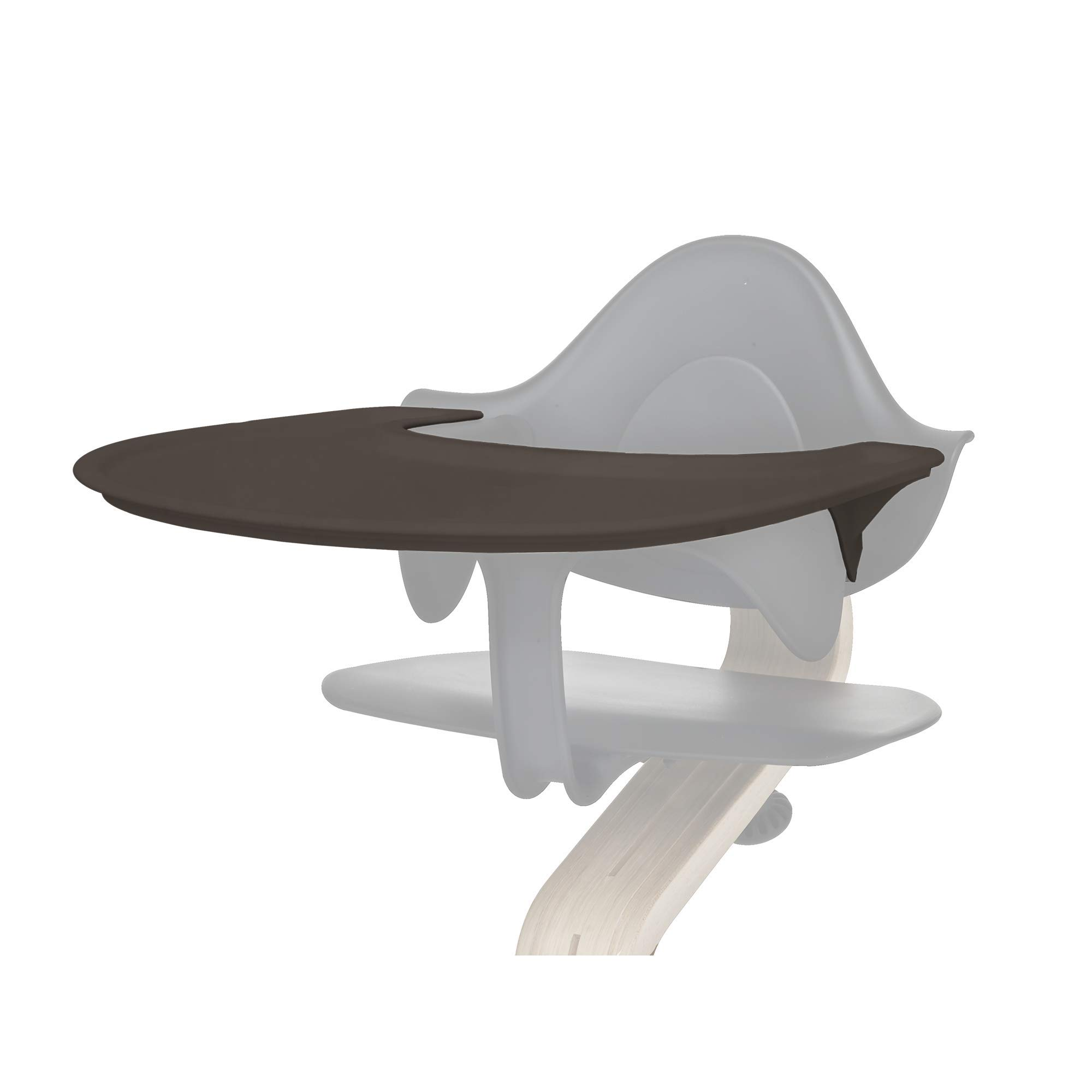 Tray by Evomove, Accessory for use with The Award Winning Nomi High Chair, Easy to Clean (Coffee)