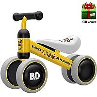 YGJT Bicicletas sin Pedales para Niños 1 Año(10-18