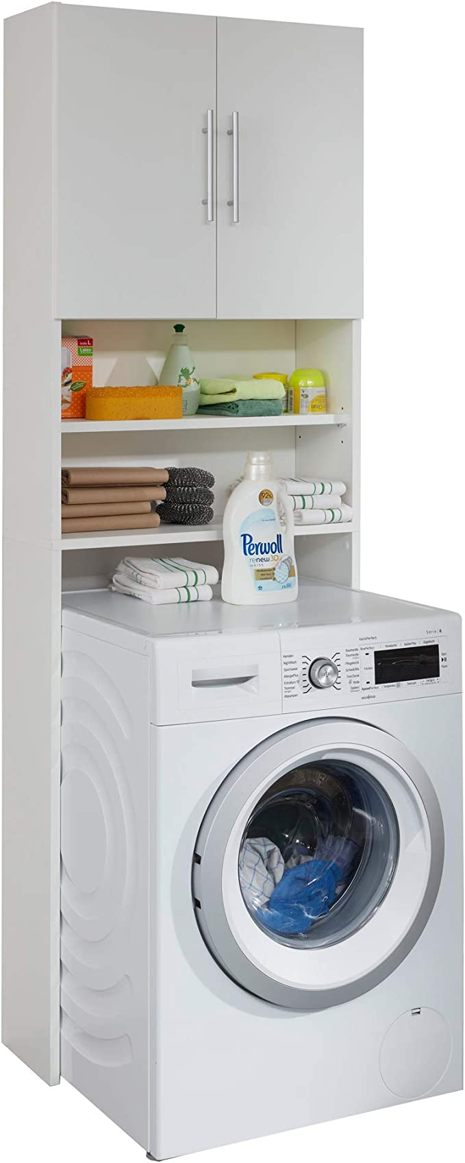 Trendteam Smart Living Badezimmer Waschmaschinenschrank