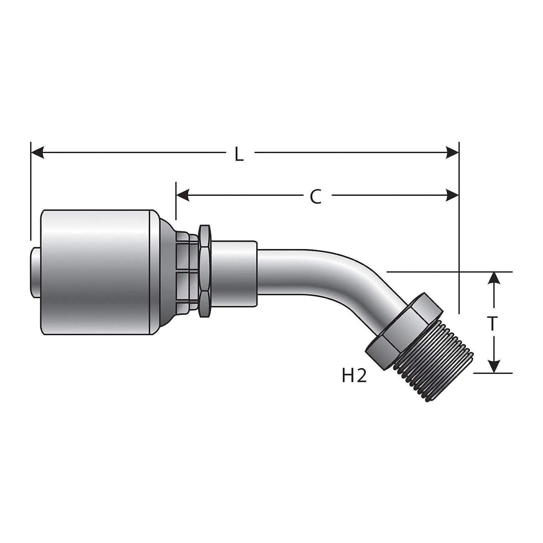 Gates G25502-0606 Hydraulic Coupling