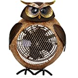 Deco Breeze Owl Figurine Heater Fan