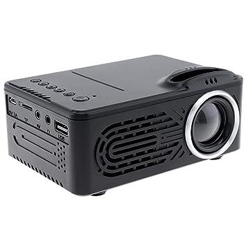 El proyector multimedia portátil Mini HD LED para el hogar ...