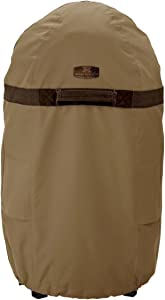 Classic Accessories Hickory Water-Resistant 24 Inch Round Smoker Grill Cover