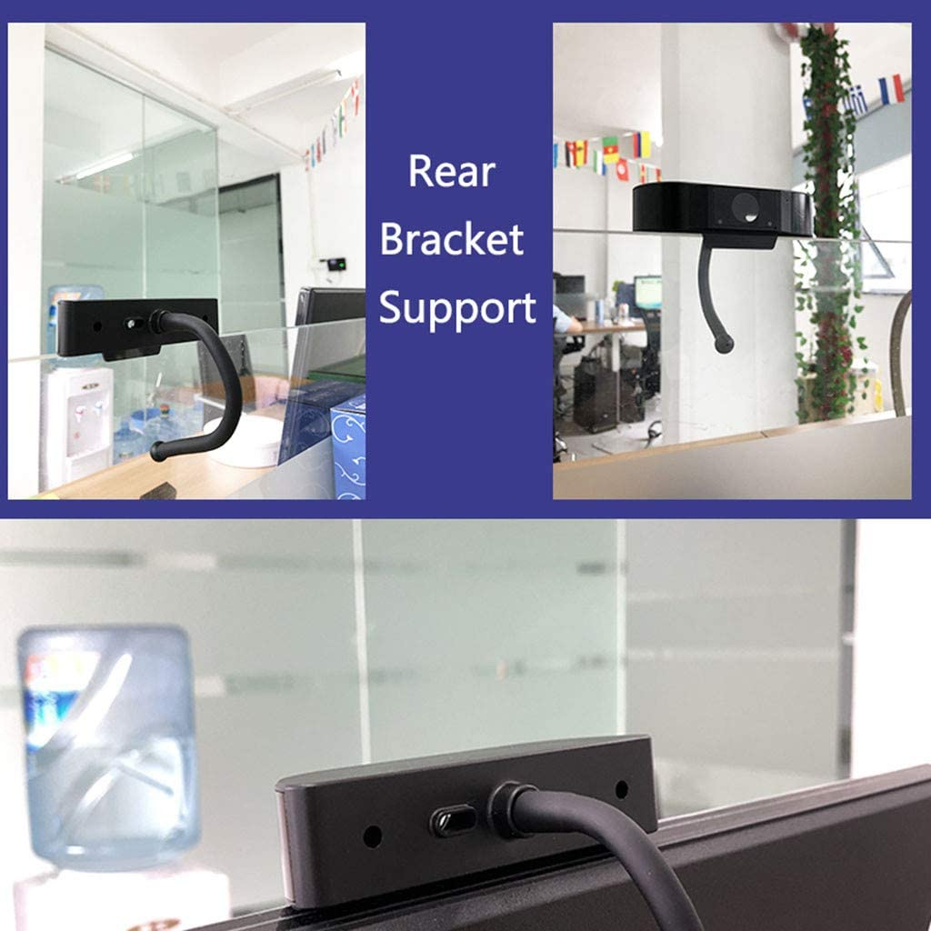 Web Camera with Dual Digital Microphone USB Computer Camera for PC Laptop Desktop Video Calling AutoFocus Full HD Webcam 1080P Calling Camera with Microphone Conferencing Skype YouTube
