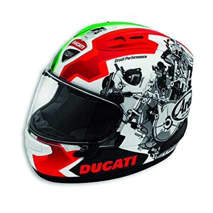 Amazon.es: Ducati Corse V2 casco por Arai 981036864 Medium