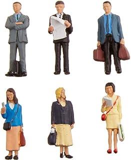 Bachmann Industries Miniature O Scale Figures Standing Platform Passengers Train /(6 Piece/) Bachmann Industries Inc. 33160