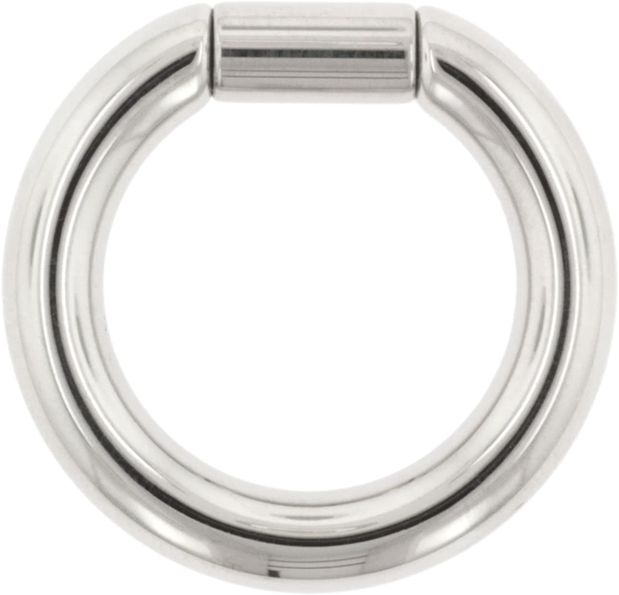 Body Circle Designs One Stainless Steel Captive Tube Ring 14g Sold Individually. Order Two for A Pair. 5//16
