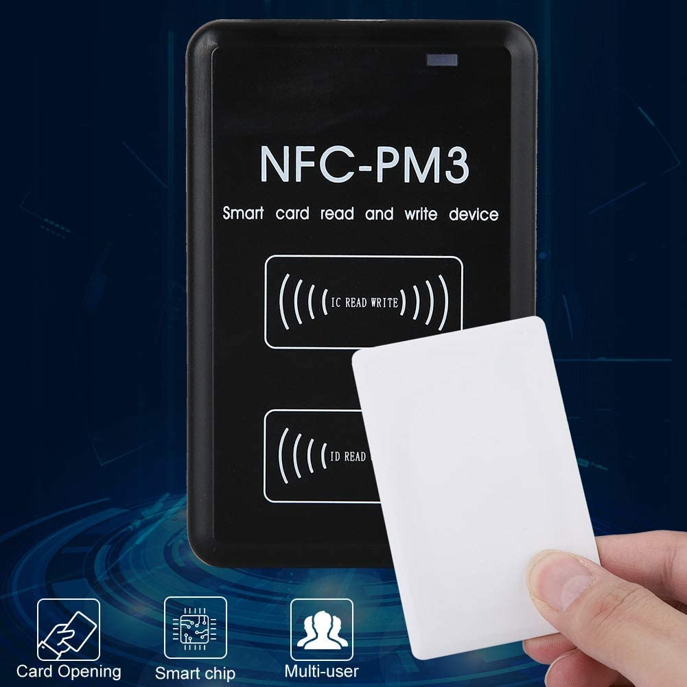 Tosuny IC//ID Duplicator 13.56 MHz NFC Access Control Card Duplicator for ME for NT 13.56 MHz IC Card Reader Duplicator Copier Full Encryption Decode Driver Software XP 2003 Vista etc 2000