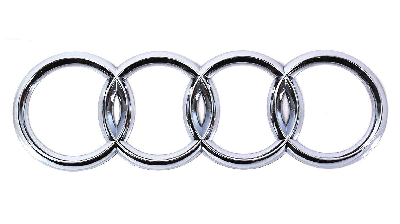 Audi Zeichen Chrom Original A3 A4 A6 Tuning Zubehor Audiringe