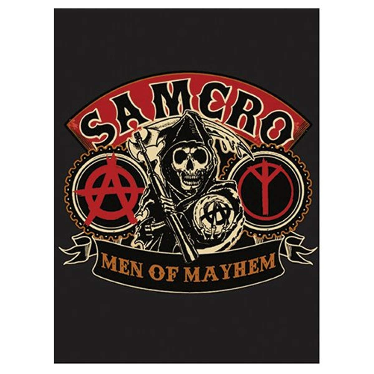 SOA Sons of Anarchy Blanket 60 X 80 Official Licensed Blanket High Quality COMIN16JU021489
