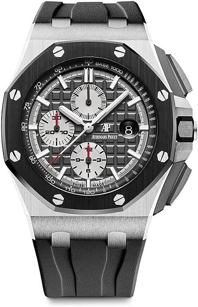 Audemars Piguet AP Royal Oak Offshore Novelty 44mm Titanium Watch Ceramic Bezel 26400IO.OO.A004CA.01