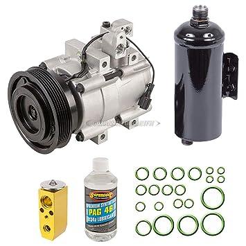 Nueva AC Compresor y embrague con completa a/c Kit de reparación para HYUNDAI XG300 XG350 - buyautoparts 60 - 80386rk nuevo: Amazon.es: Coche y moto