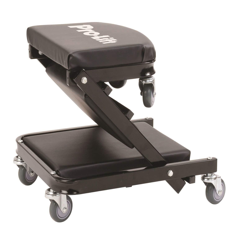 Pro-LifT C-9100 Black 450 Pounds 40 Foldable Z Creeper-450 LBs Renewed