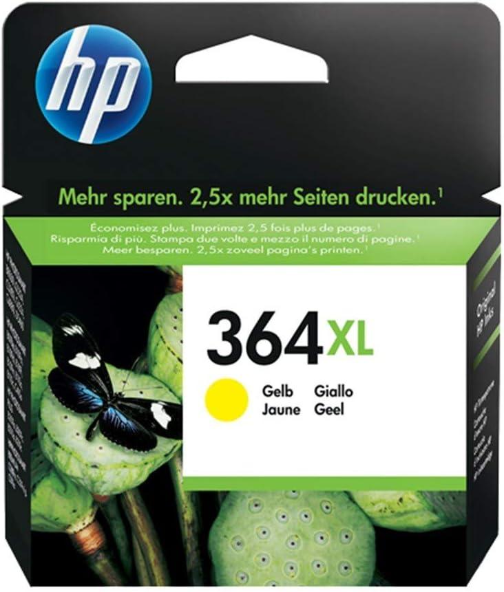 HP Value Pack Dâ € TM Cartucho de Tinta HP 364 XL Amarillo (Lot de ...