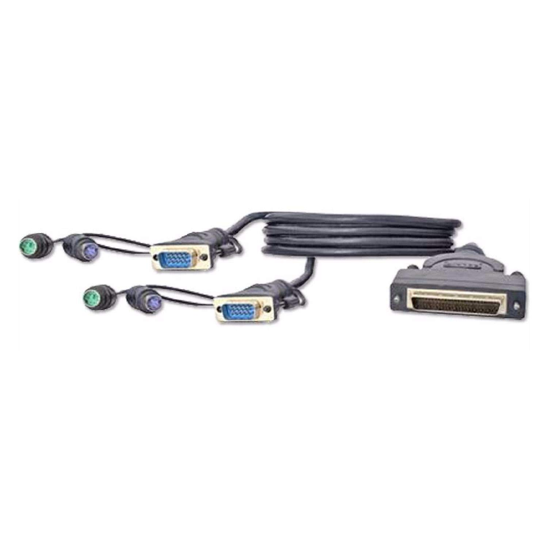 Belkin F1D9400-25 Dual Port PS/2 & VGA Bonded Cable by Belkin