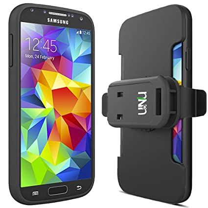 Amazon.com: Galaxy S5 batería Caso & Cinturón Clip ...