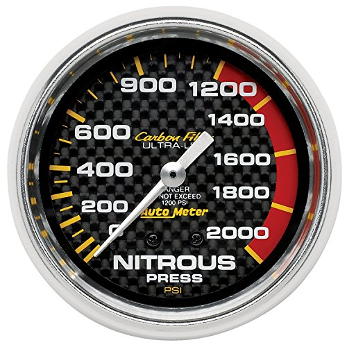 Auto Meter 4828 Carbon Fiber Mechanical