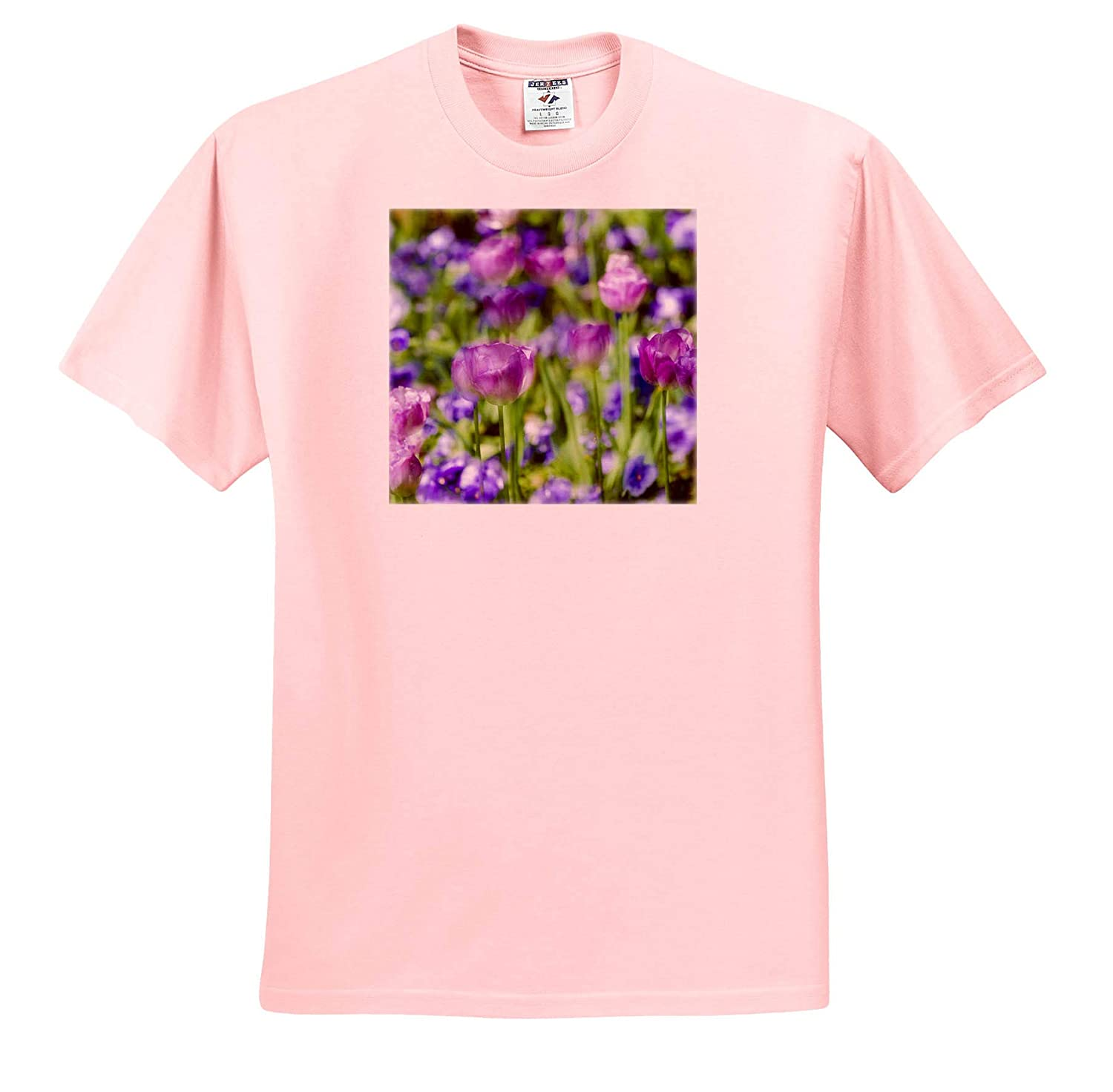 ts/_313126 Tulips at Claude Monet House and Gardens Flowers Giverny France 3dRose Danita Delimont Adult T-Shirt XL