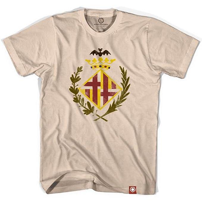 Barcelona Original Escudo camiseta de fútbol Marfil crema extra-large