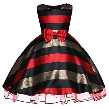 QSEFT  Disfraz de Rayas para niñas 03dcf91a94d