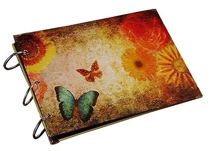 mariposa] DIY Álbum de recuerdos DIY Libro de recuerdos Álbumes de ...