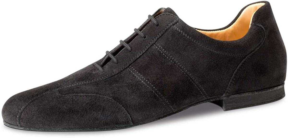 Werner Kern Hommes Chaussures de Danse 28045 1,5 cm Micro-Heel Su/éde Noir