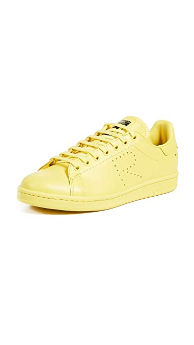 27785995bd93 Amazon.com   adidas by RAF Simons Men's RS Stan Smith Sneakers, Bright  Yellow, 10 M US   Fashion Sneakers