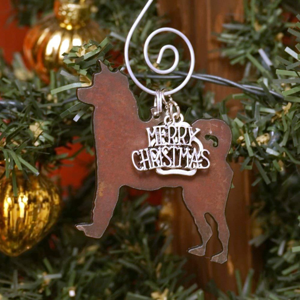 AKITA Dog Lovers Gifts or HUSKY Christmas Ornament Dog Lover Gift Pet Memorial SHIBA INU Gift for Dog Mom