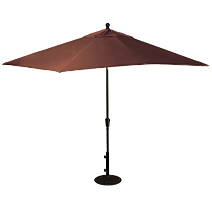 Incroyable Patio   Umbrella Large Outdoor Adjustable Parasol W/Cantilever Base Stand    Best Sun Uv
