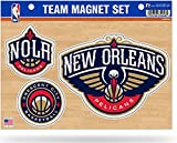 Rico Industries NBA New Orleans Pelicans Die Cut Team Magnet Set Sheet