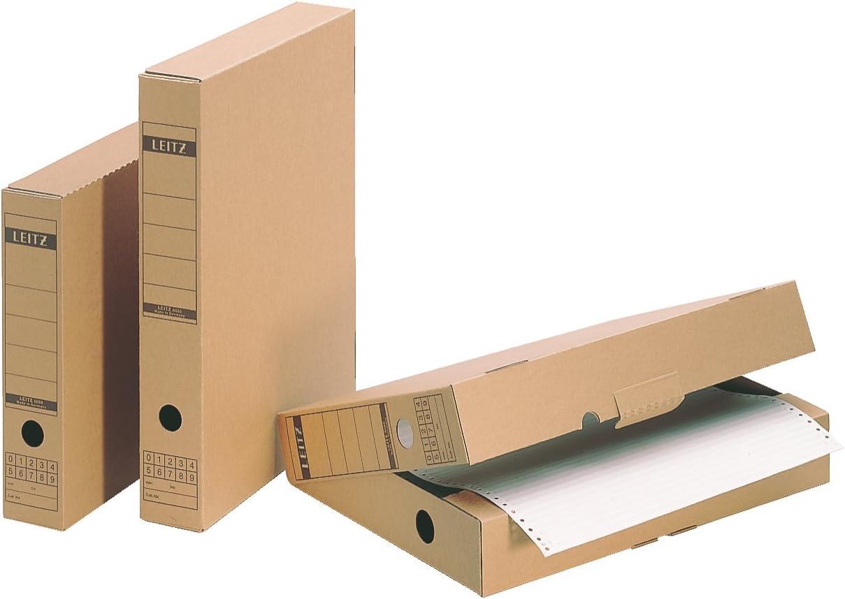 Leitz 60850000 - Caja para archivos (A3, cartón), color marrón ...