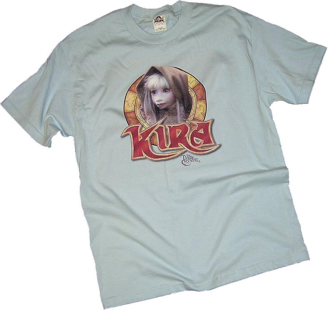 The Dark Crystal Movie JEN /& KIRA Licensed Juniors Cap Sleeve T-Shirt