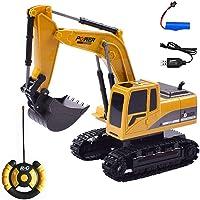 Womdee RC Excavadora de construcción Tractor, Excavadora
