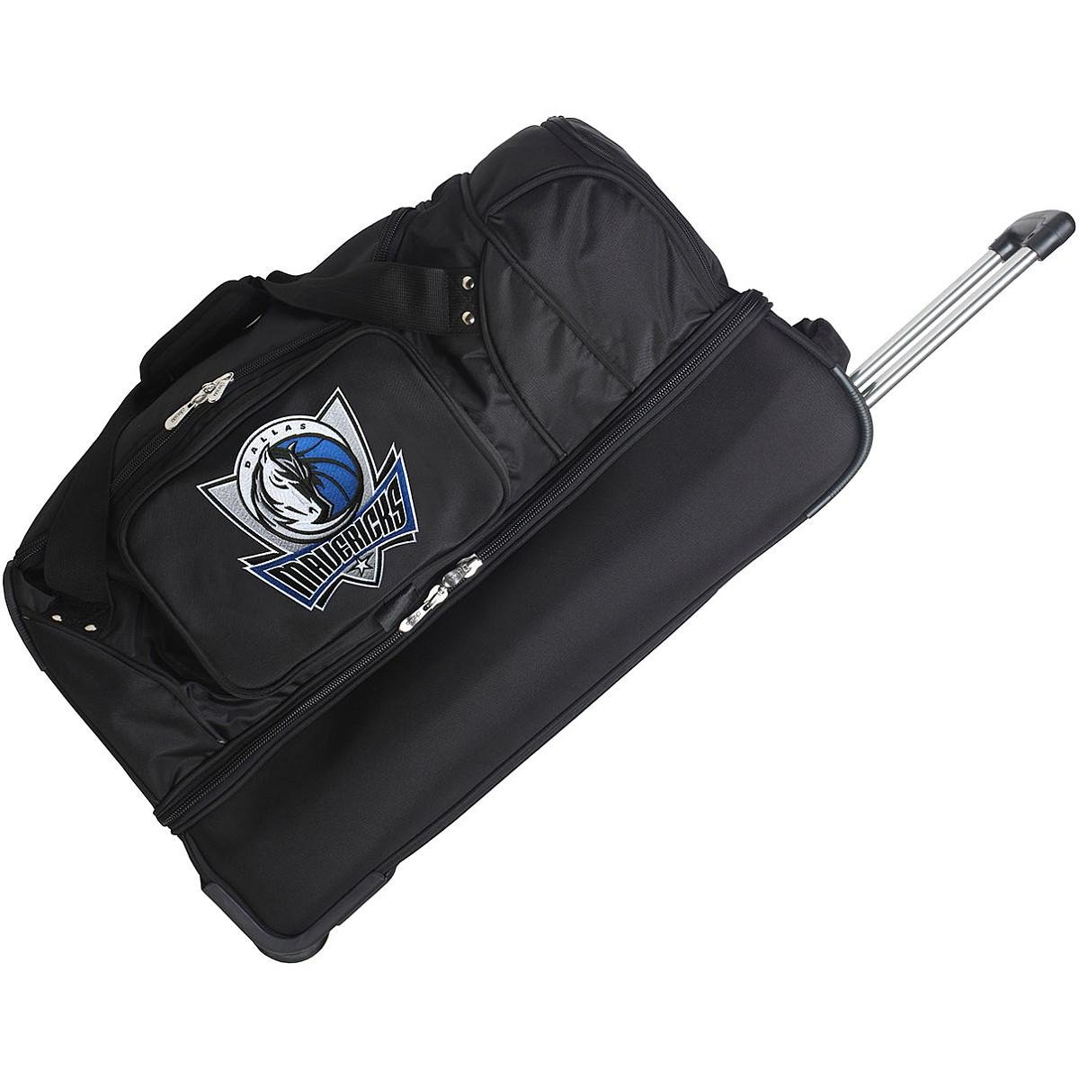 DENCO DALLAS MAVERICKS 27'' 2-WHEELED DROP BOTTOM DUFFEL