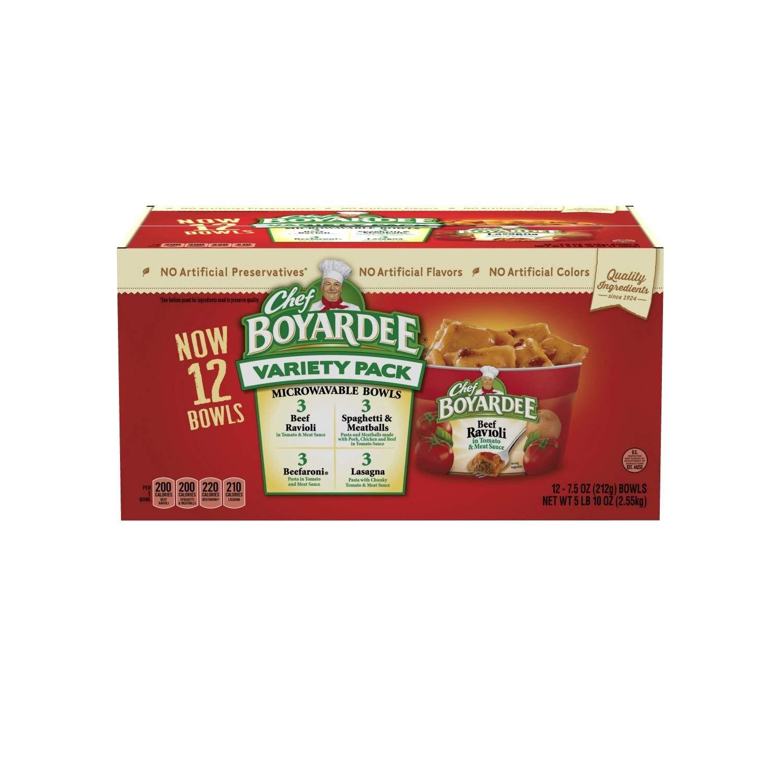 Chef Boyardee Variety Pack (7.5 oz., 12 pk.) (pack of 2)