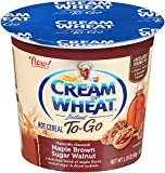 Cream of Wheat Hot Cereal to Go, Maple Brown Sugar Walnut, 2.29 Ounce (Pack of 6)