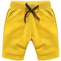 NIDONE Los niños de algodón Cortos bebé Transpirable elástico de la Cintura Deportes Ocasionales de los Pantalones…